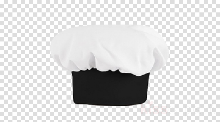 white chef's uniform cap