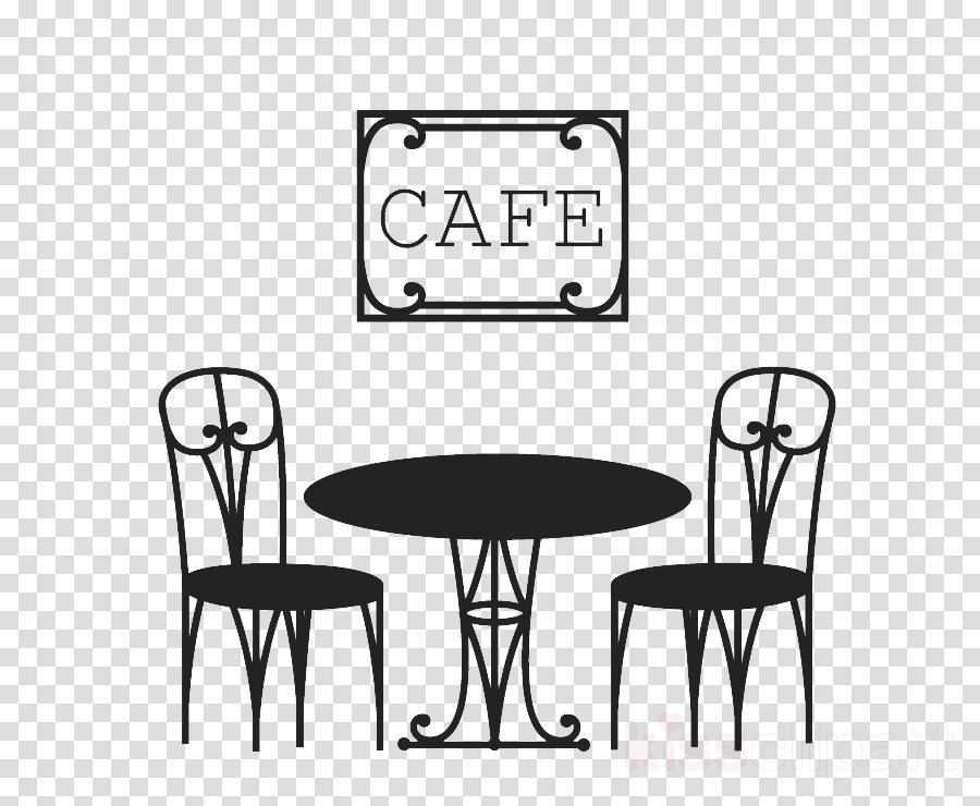 furniture chair white table text