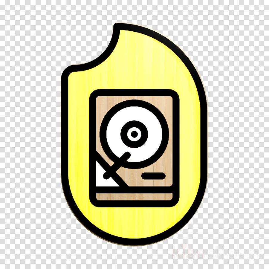 Hacker icon Hdd icon Data Protection icon