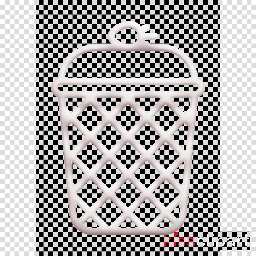 Ice Cream icon Waffle cup icon Waffle icon