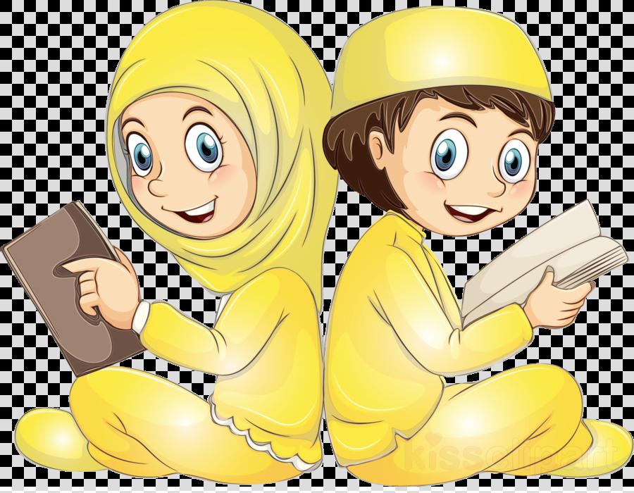 cartoon yellow finger sharing animation