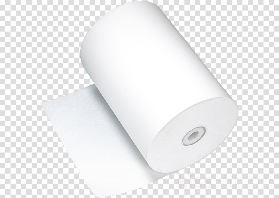 white paper material property label cylinder