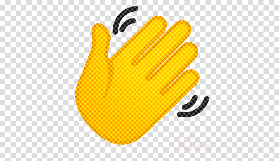 yellow personal protective equipment finger glove sports gear