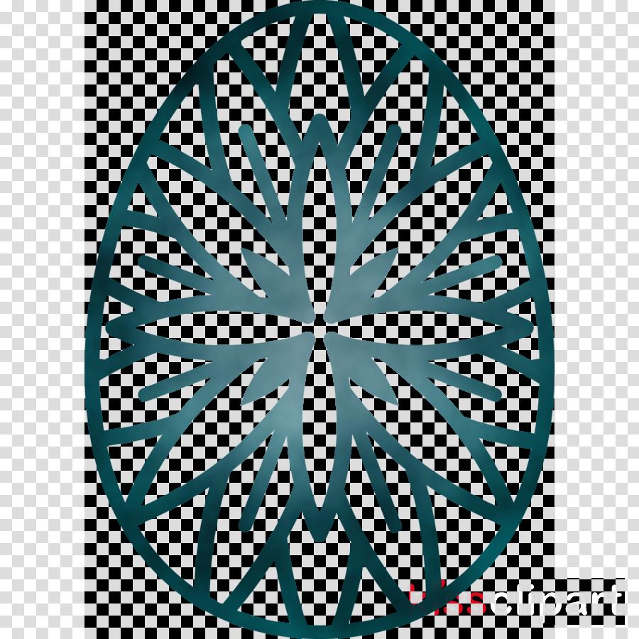 leaf line art pattern symmetry plant