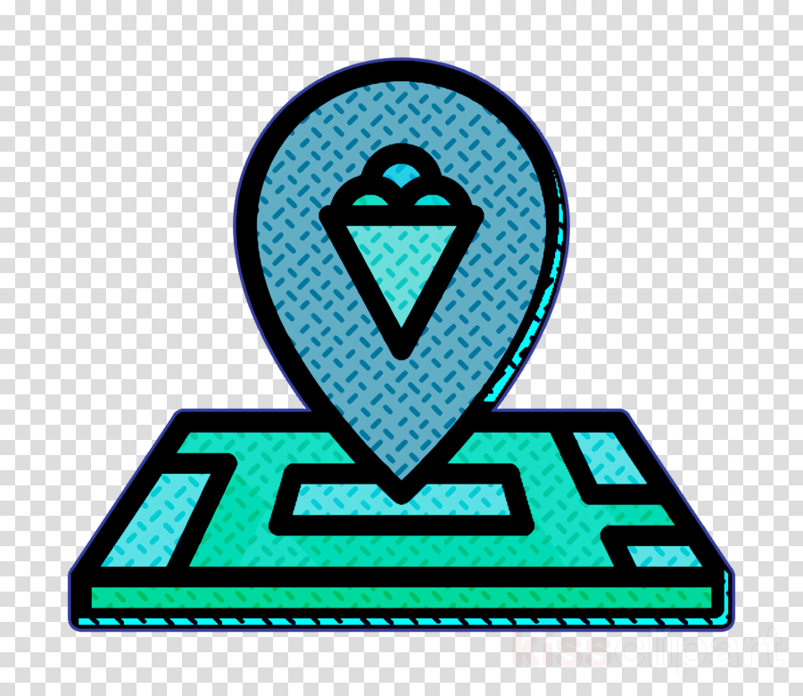 Ice cream icon Ice Cream icon Place icon