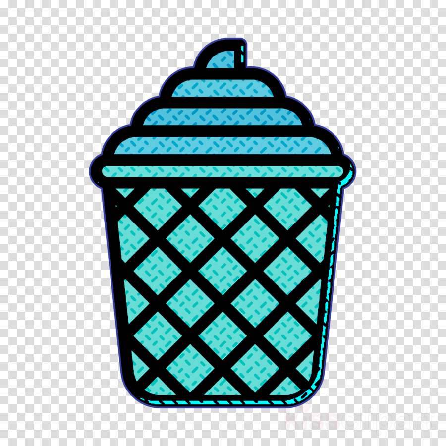 Waffle cup icon Ice Cream icon