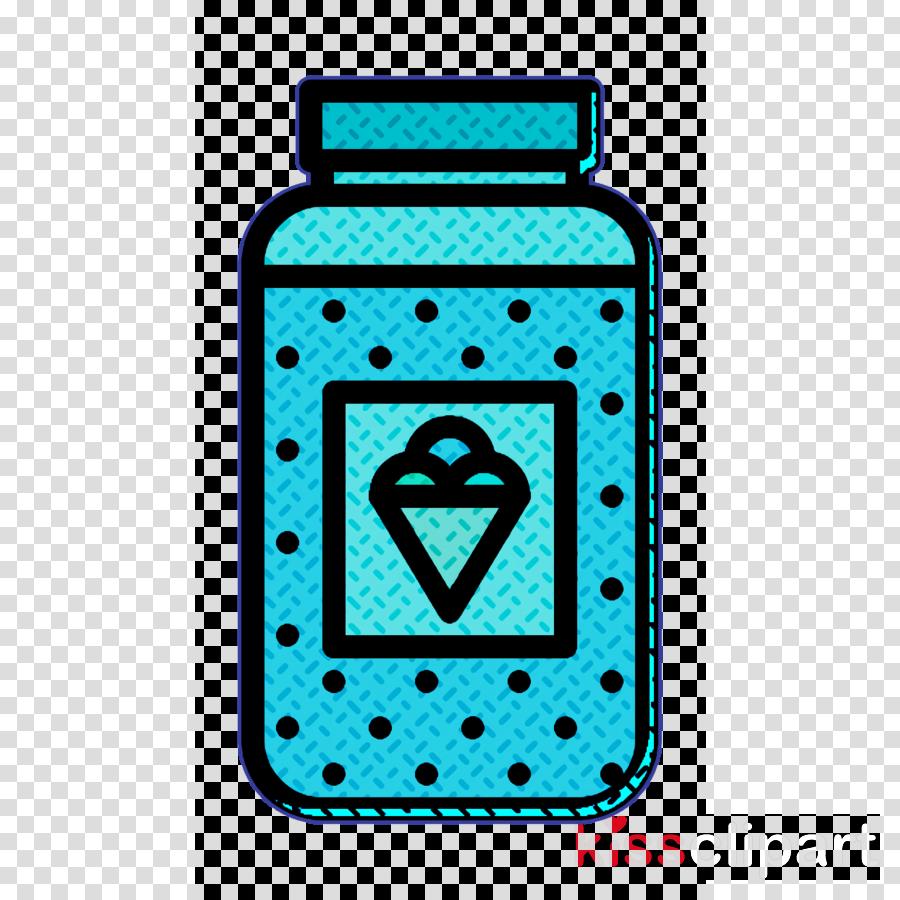 Topping icon Ice Cream icon Jar icon
