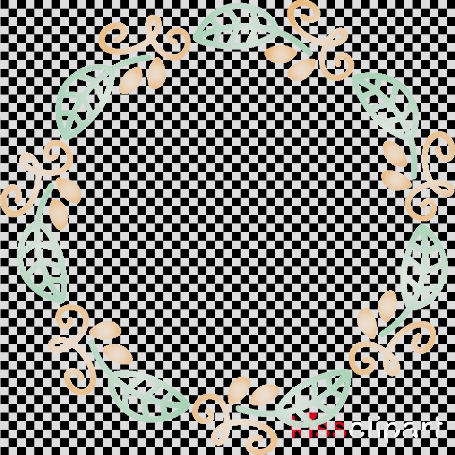 text pattern circle ornament