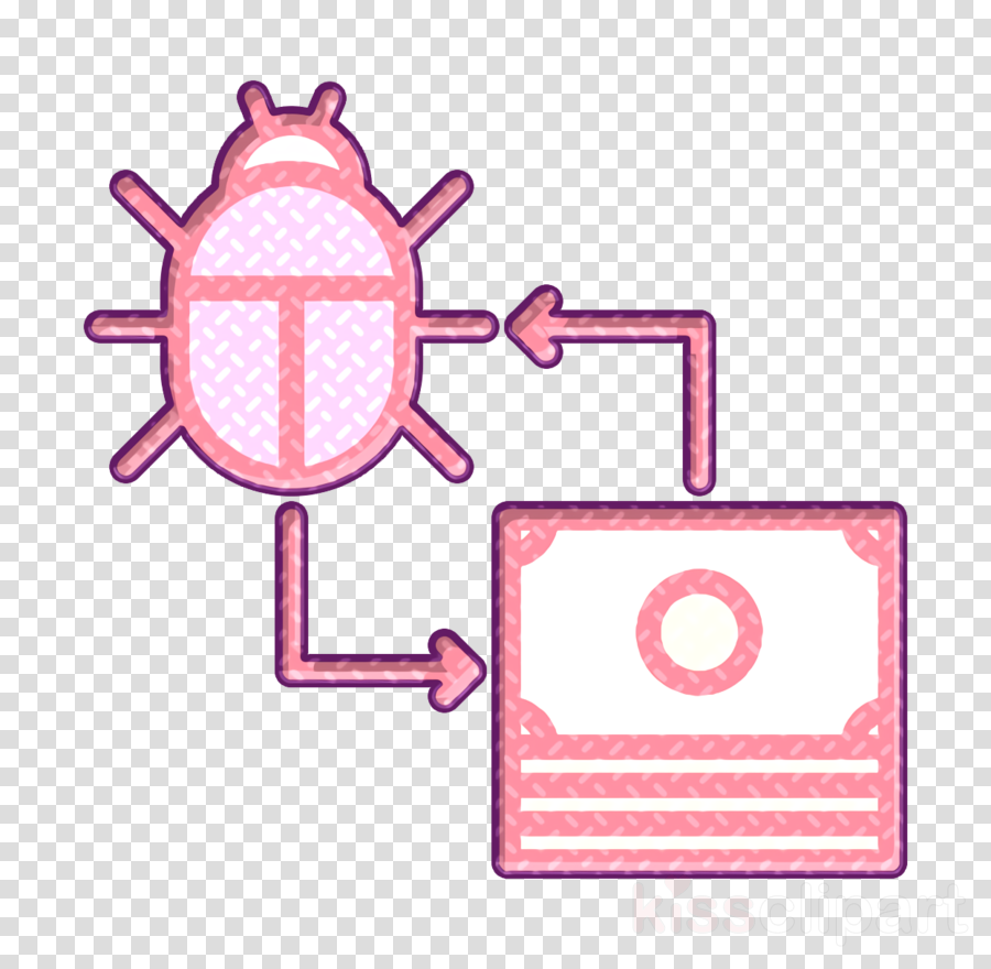 Ransomware icon Data Protection icon