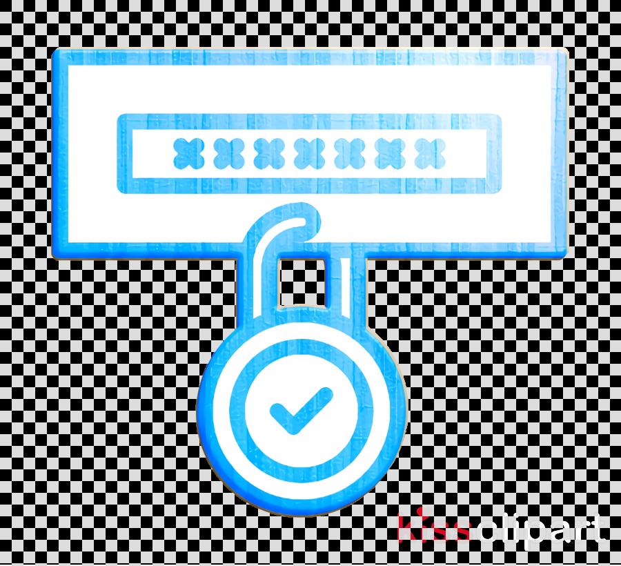 Data Protection icon Lock icon Password icon