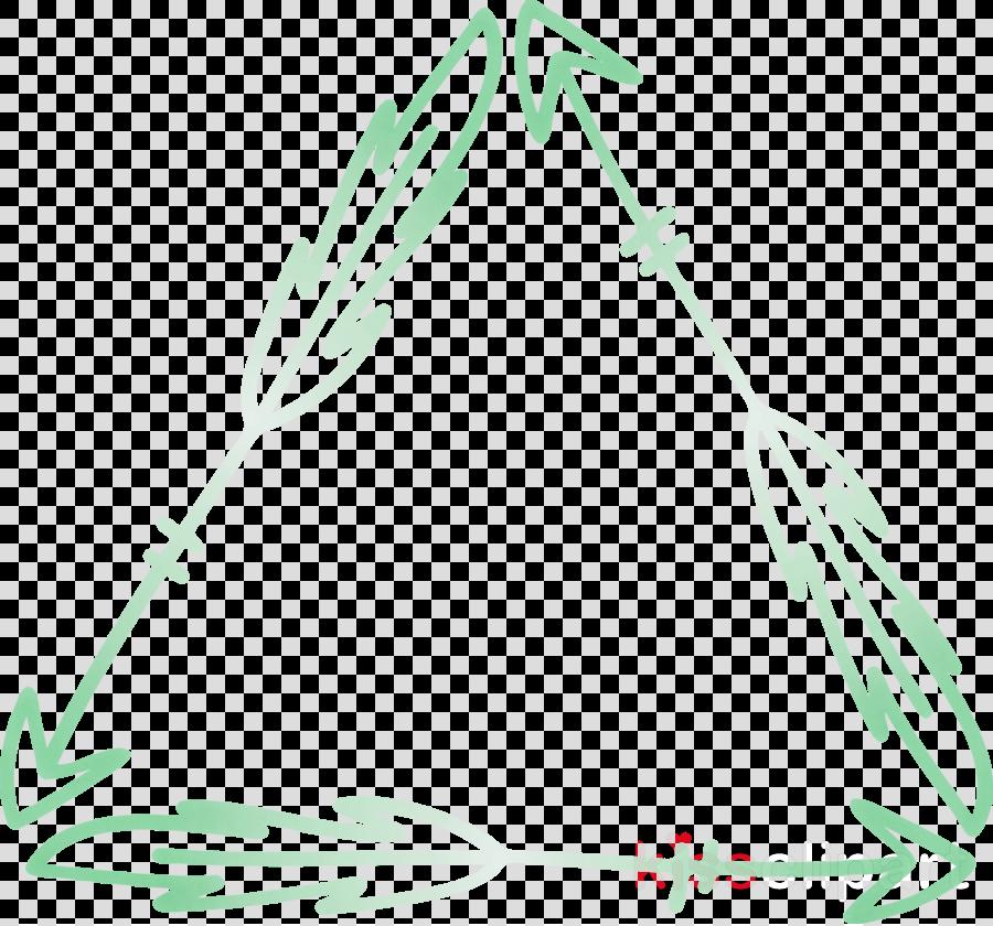 Boho Arrow Triangle Frame