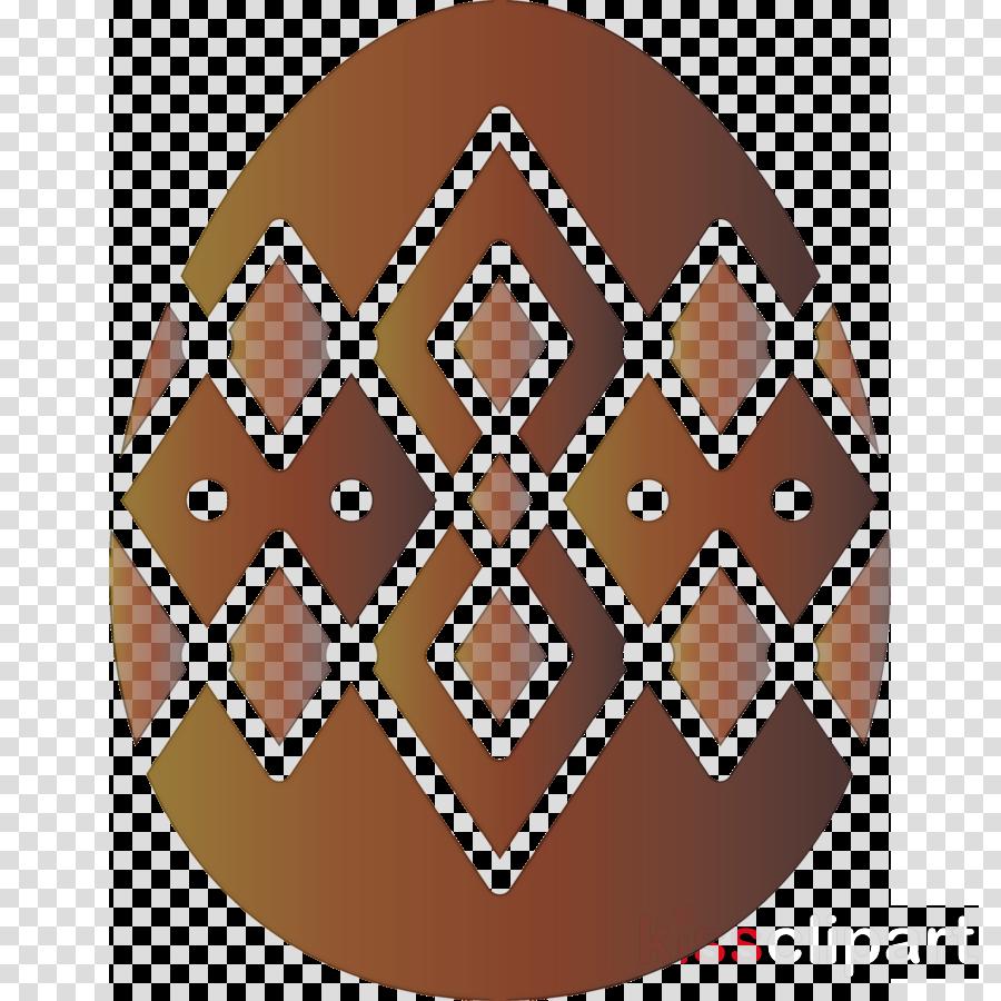 brown pattern logo