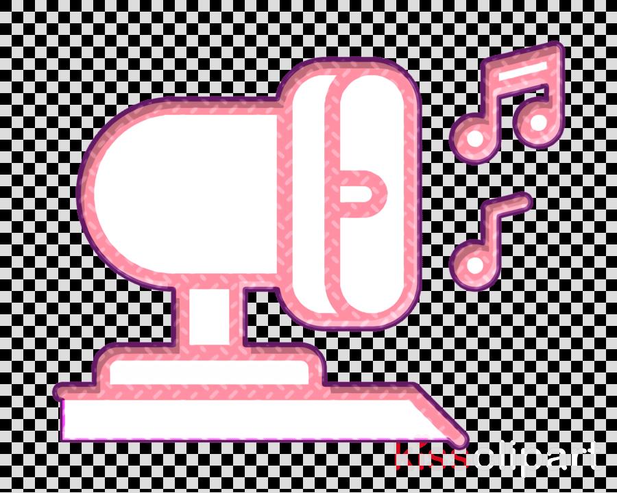 Megaphone icon Ice cream truck icon Ice Cream icon