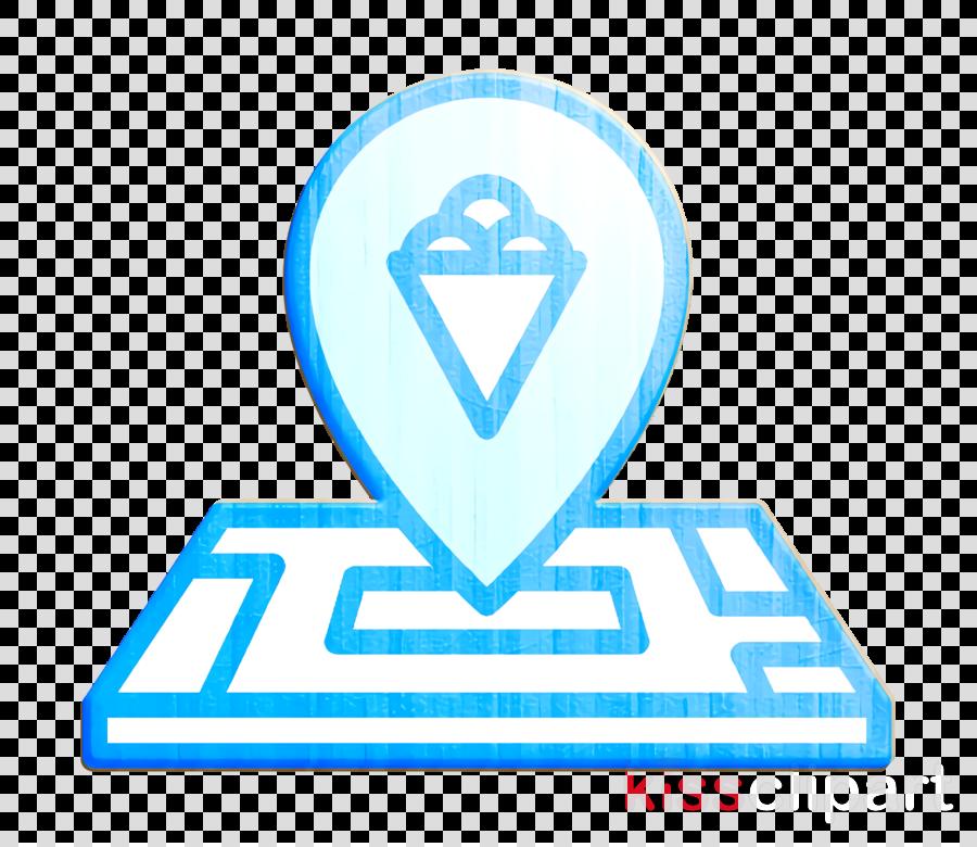 Ice cream icon Ice Cream icon Maps and location icon