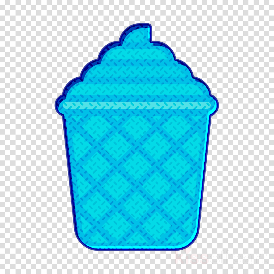 Ice Cream icon Waffle cup icon