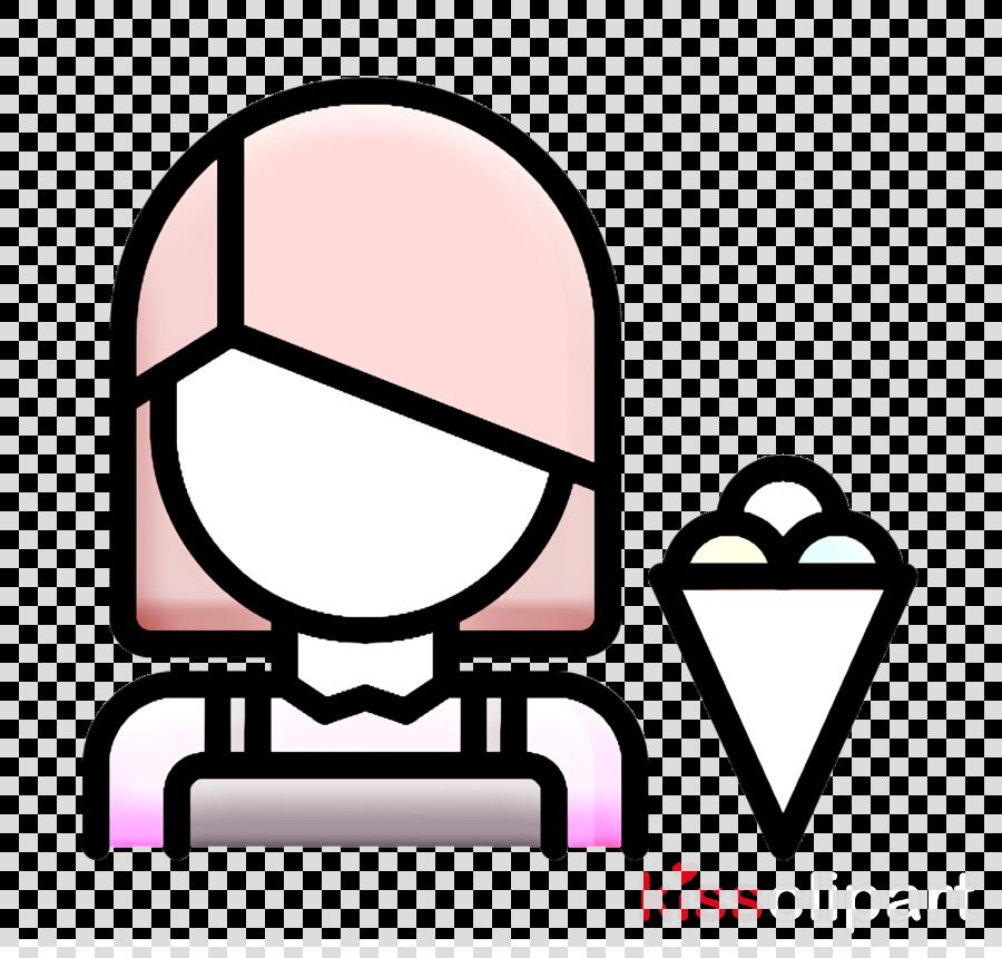 Ice Cream icon Seller icon