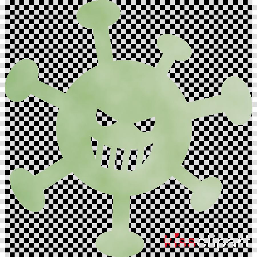 green cartoon smile symbol