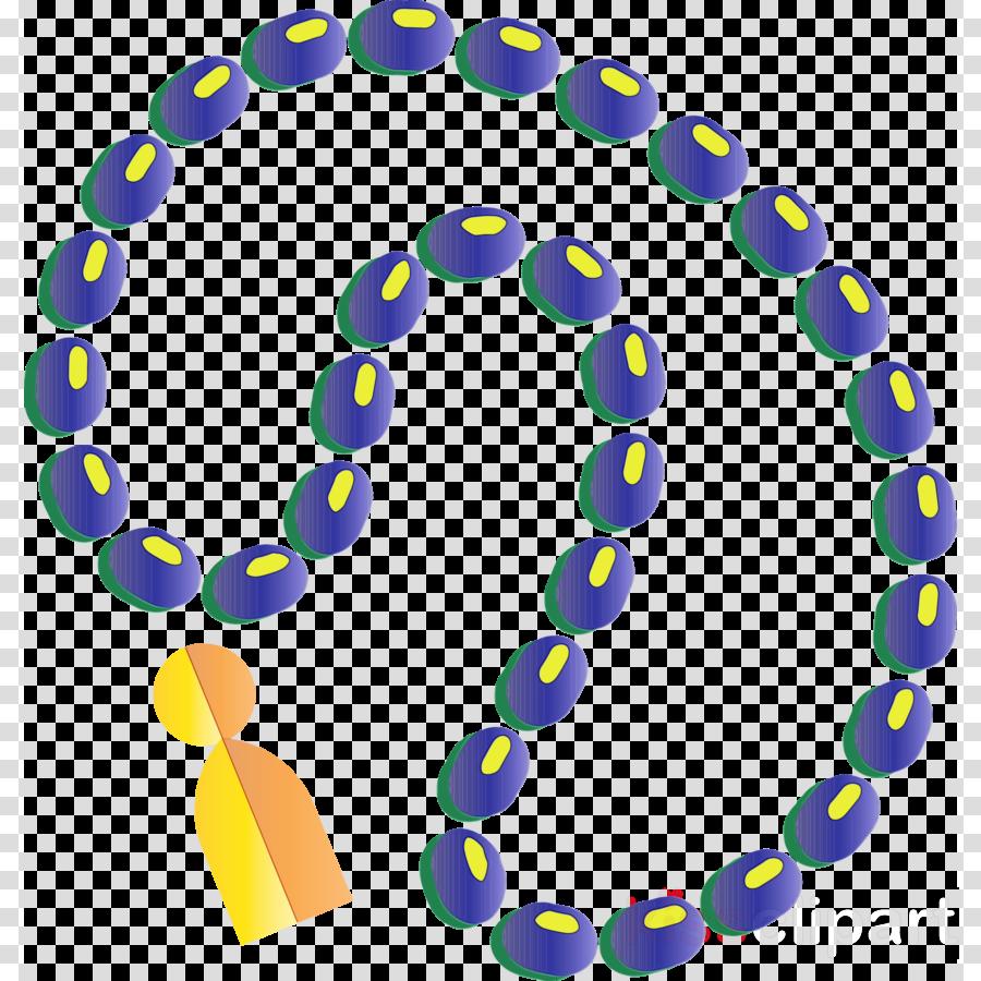 circle font electric blue