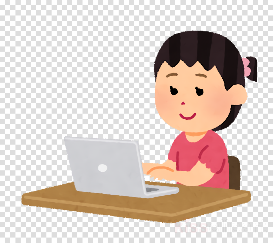 laptop technology desk learning child