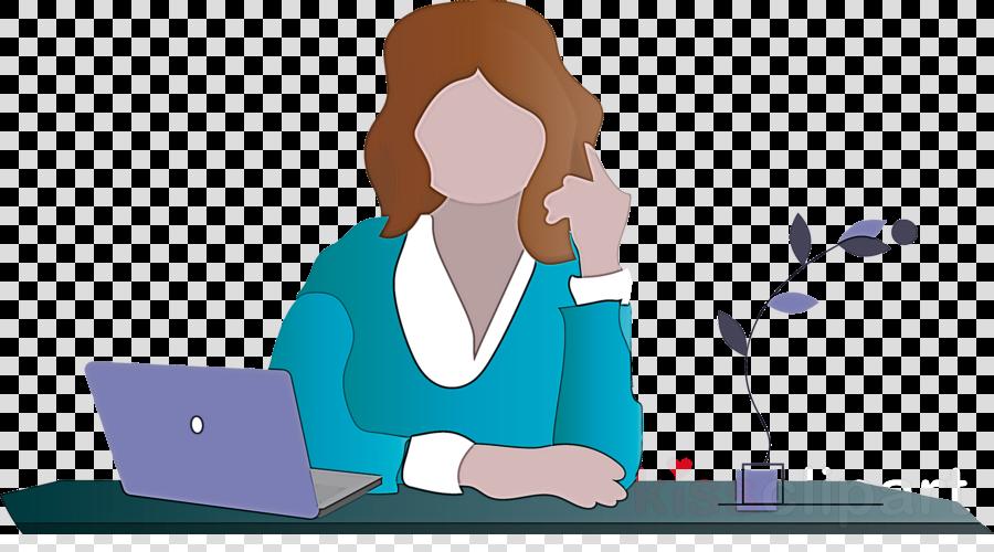 Teacher Woman Table