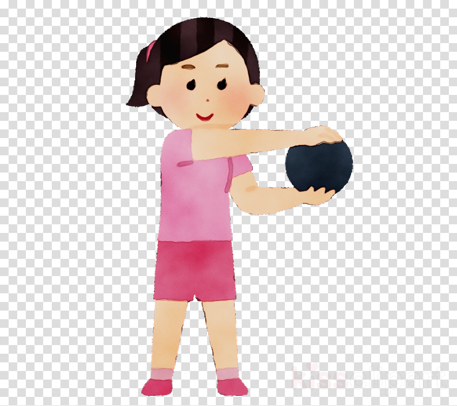 cartoon shoulder arm joint child