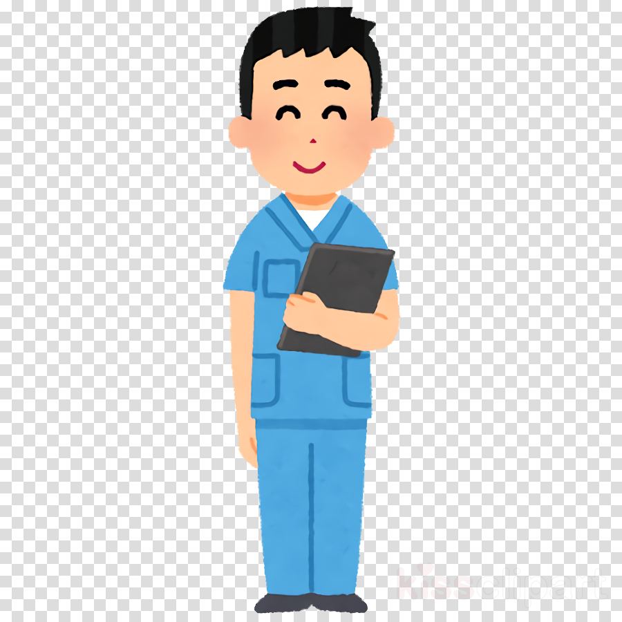 cartoon standing job white-collar worker gesture