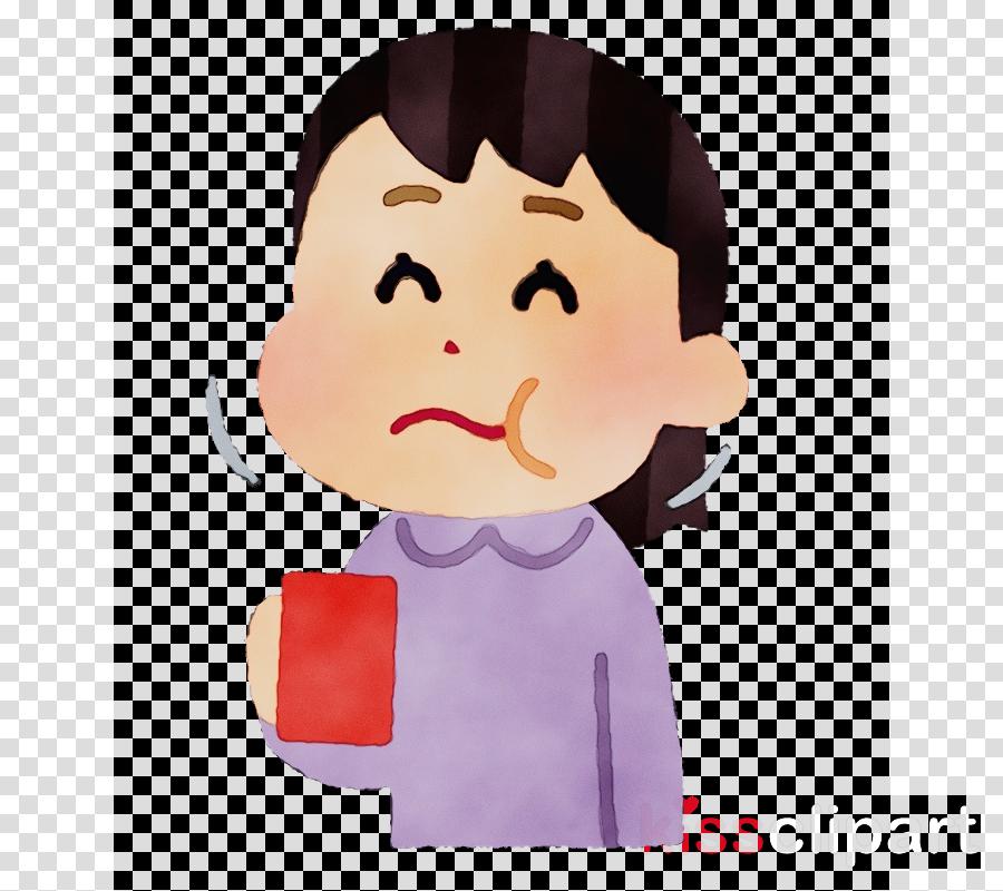 cartoon nose cheek animation child