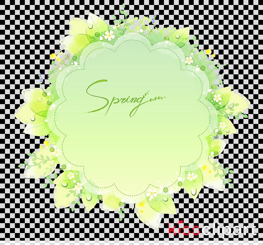 green yellow plant circle