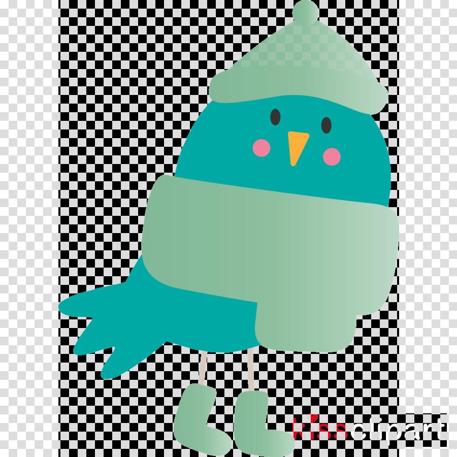 green cartoon bird