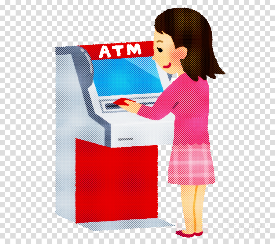 atm woman