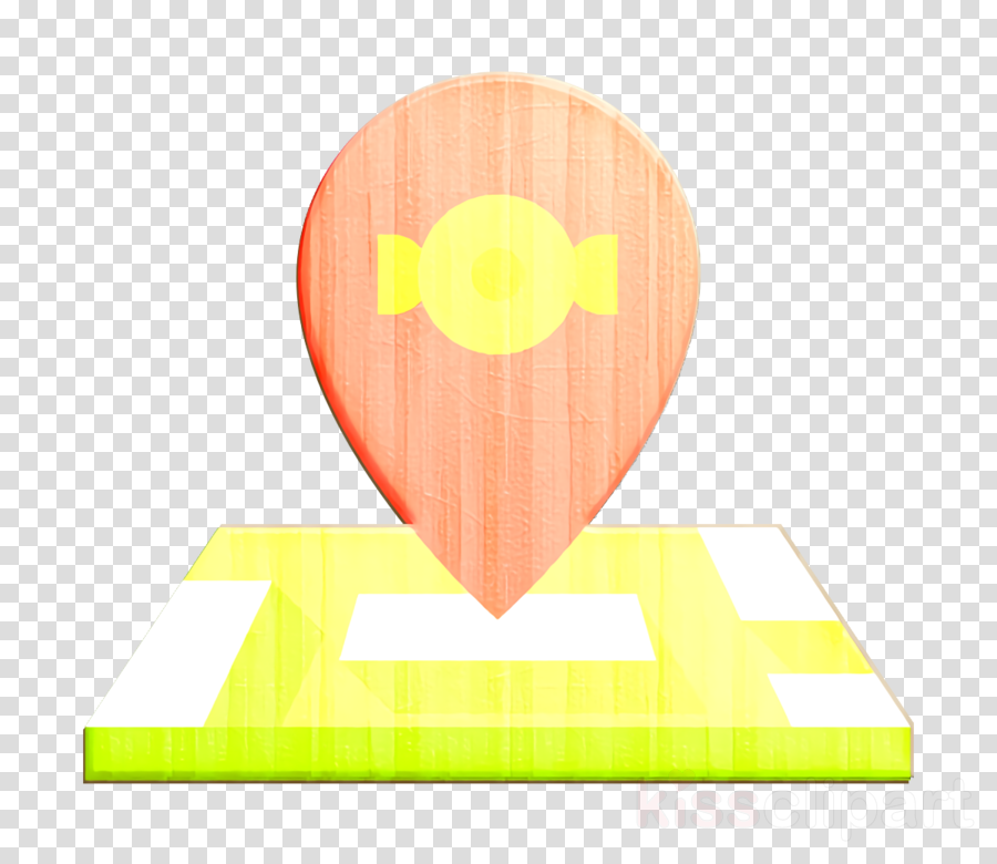 Candies icon Maps and location icon Location icon