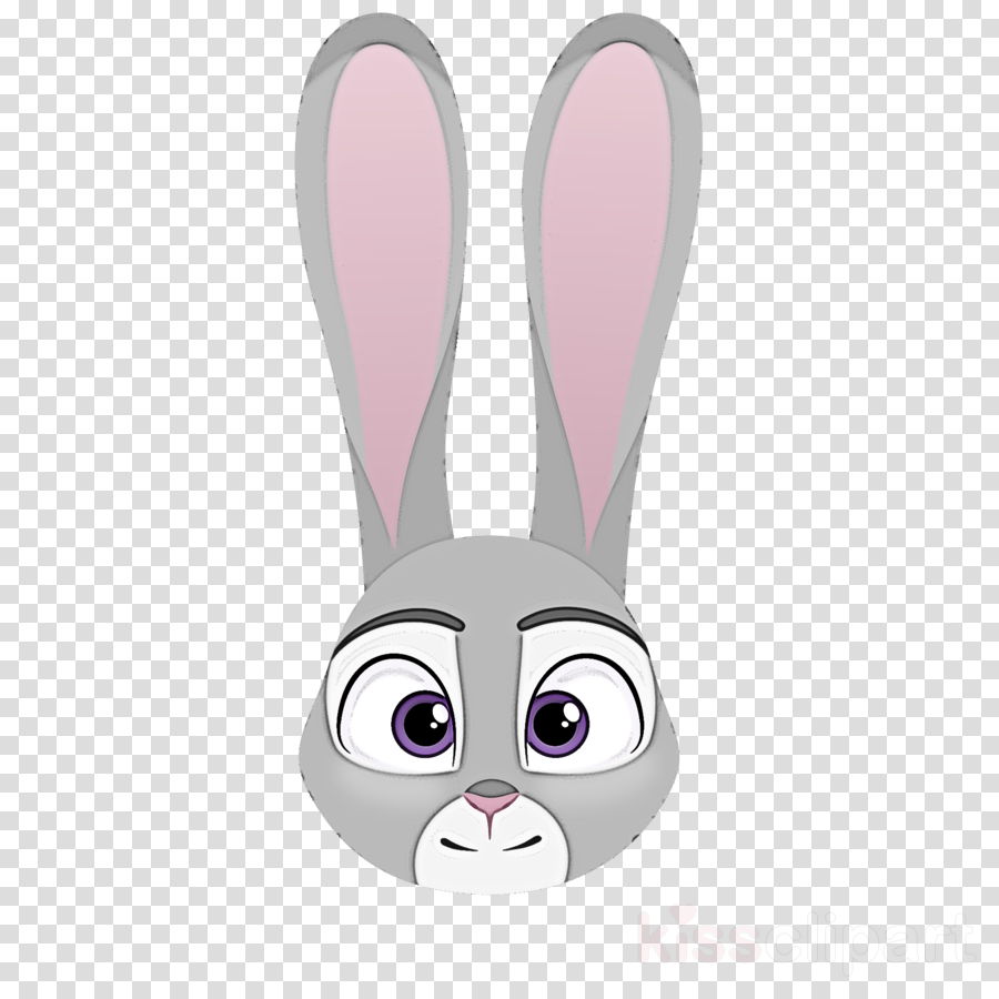 cartoon whiskers pink eye rabbit