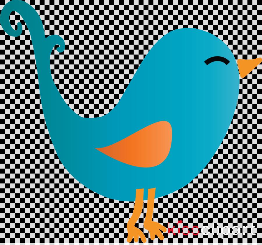 bird beak cartoon tail