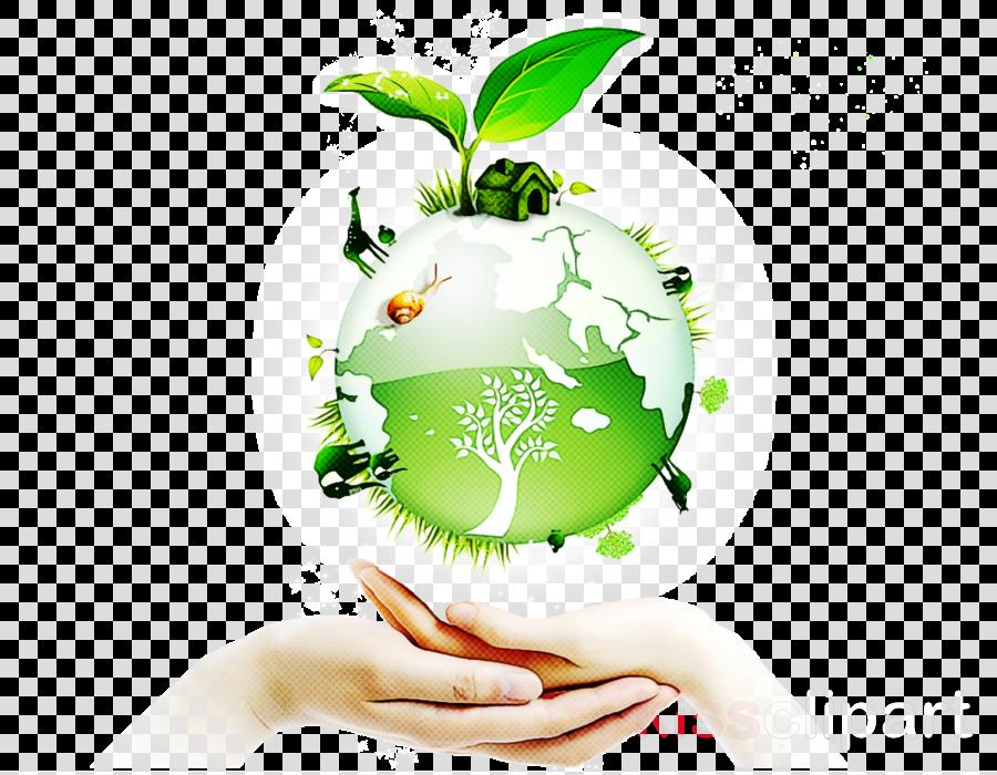 green world earth logo hand