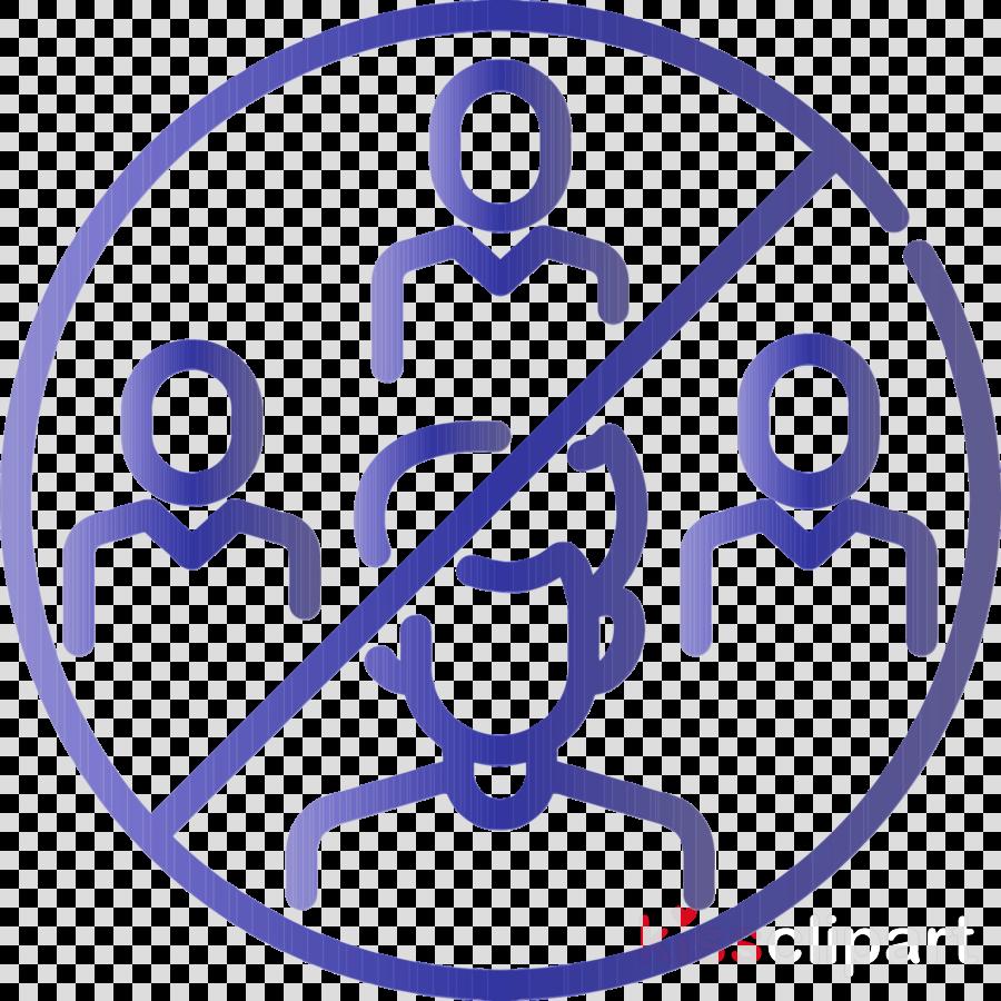 line symbol electric blue line art