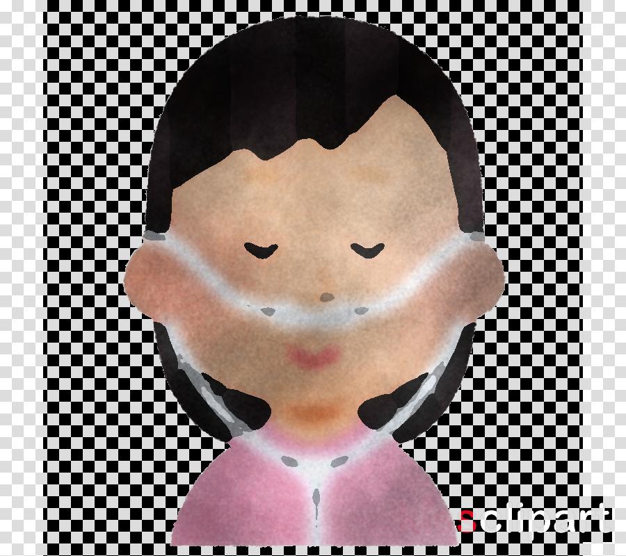 face nose head pink cheek