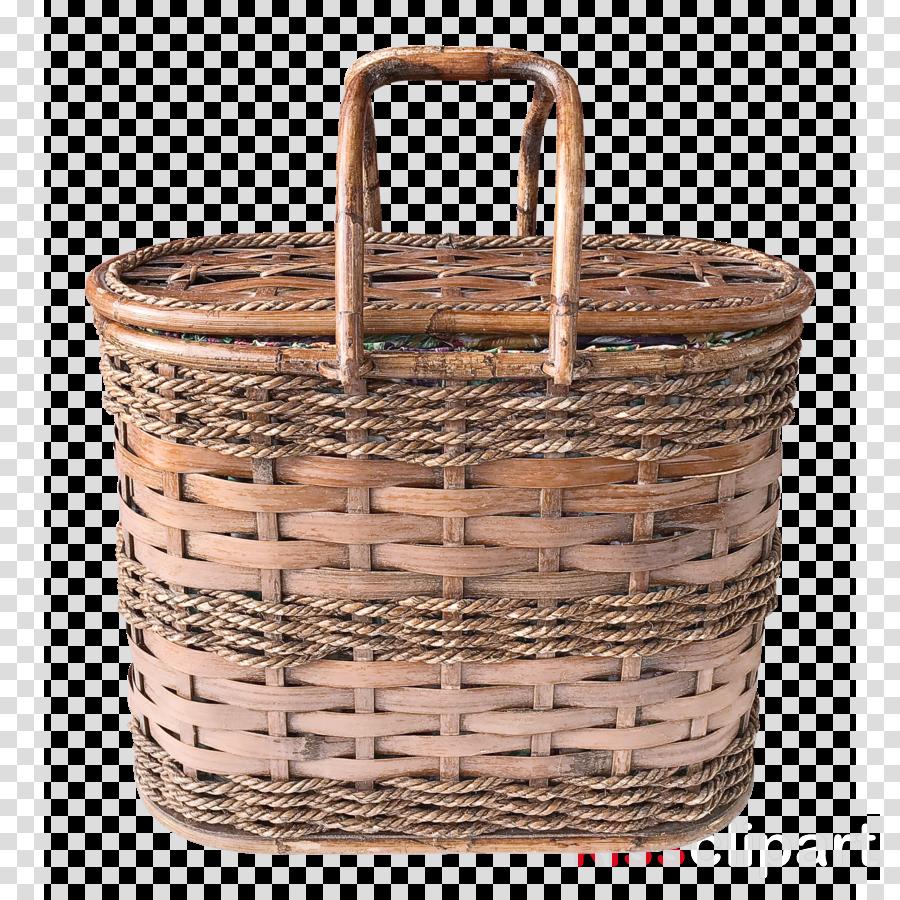 basket storage basket wicker picnic basket hamper