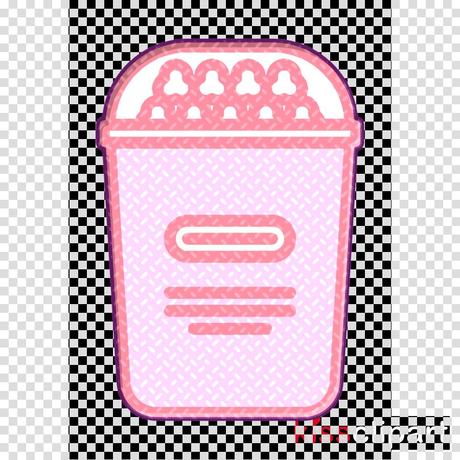 Snacks icon Popcorn icon Snack icon