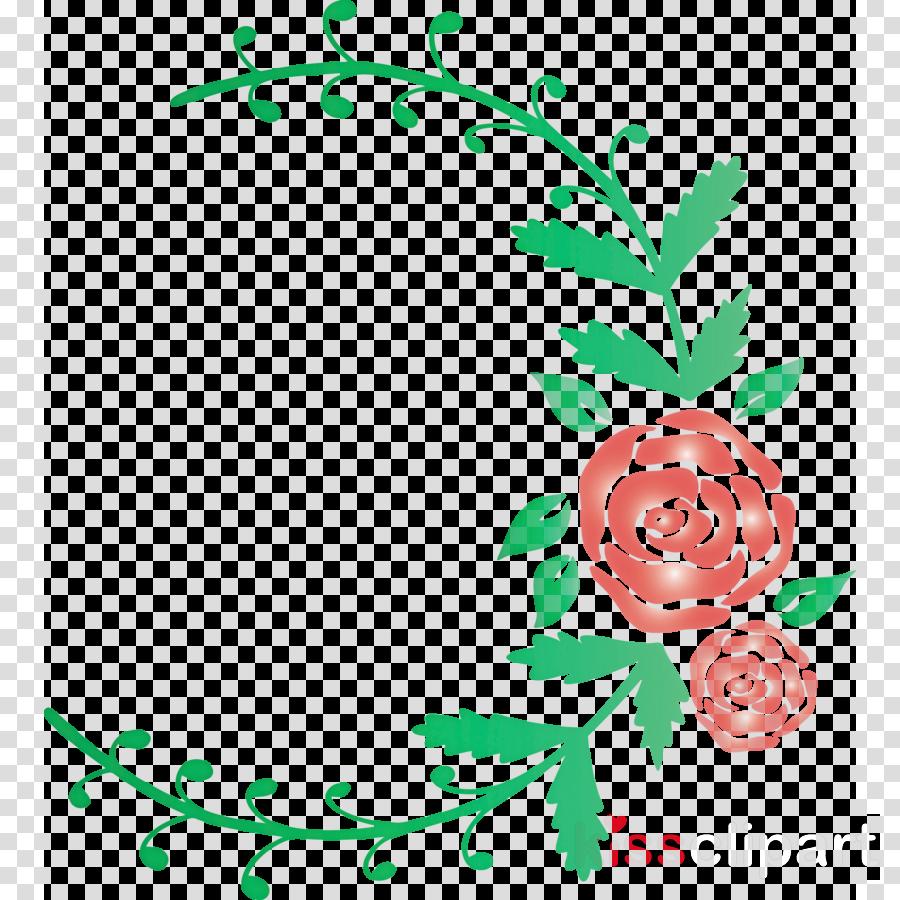 rose frame flower frame wedding frame