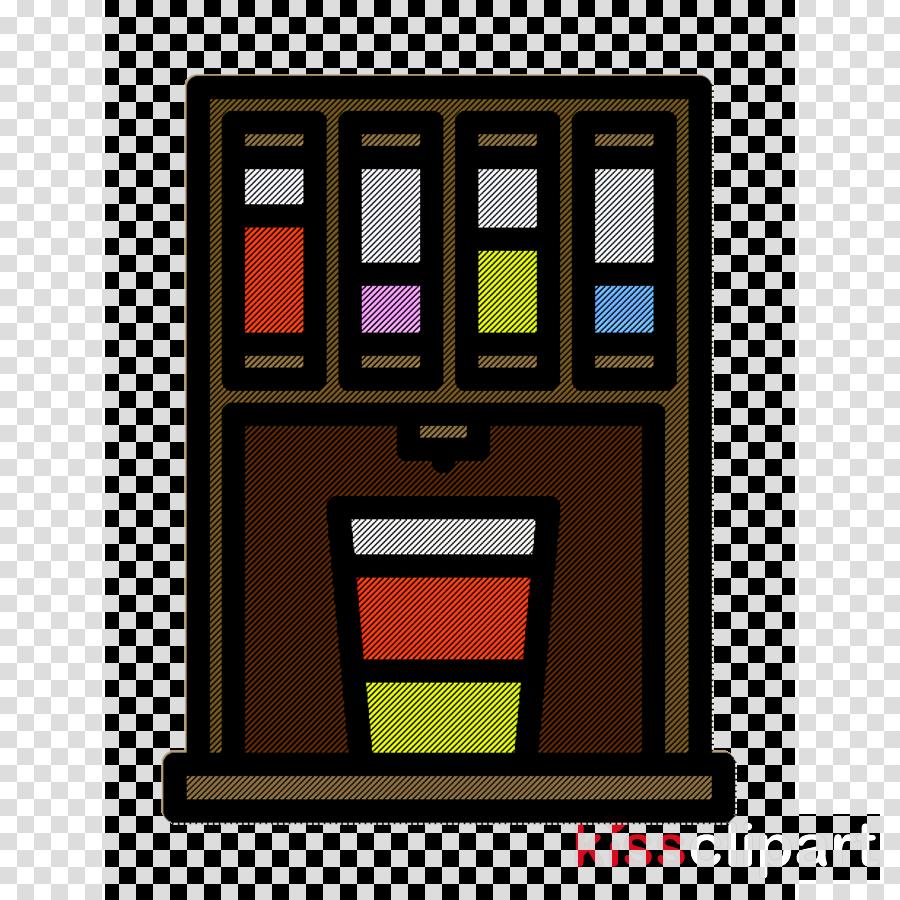 Snacks icon Vending machine icon Food and restaurant icon