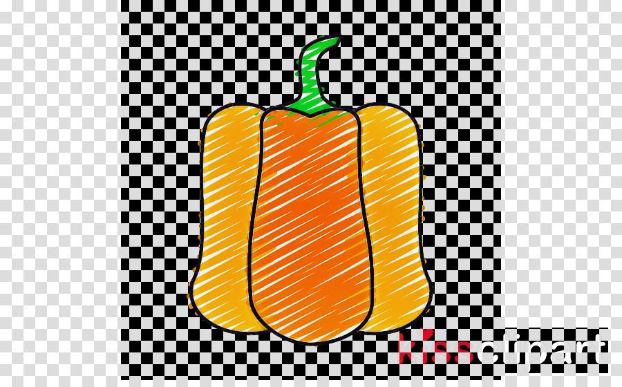 yellow bell pepper plant vegetable