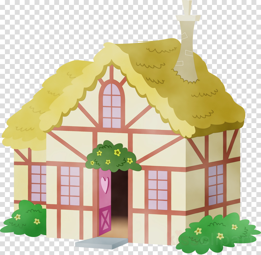 house dollhouse cottage toy playset