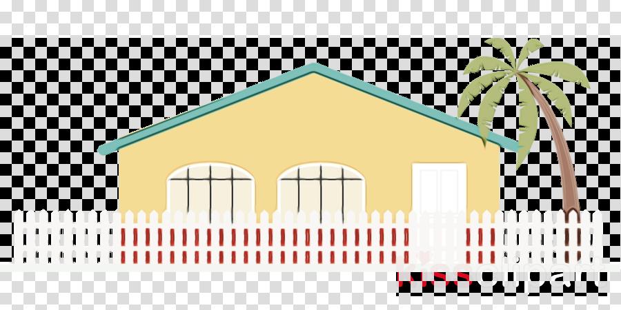 yellow line house home facade