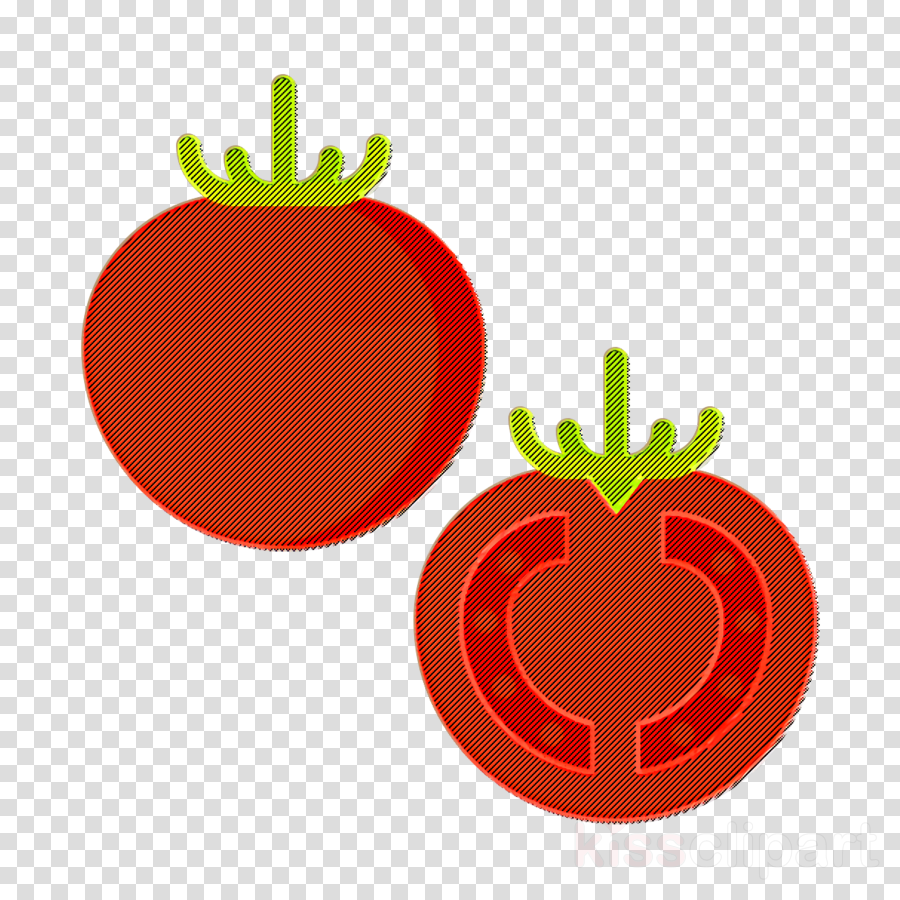 Fruits and Vegetables icon Tomato icon