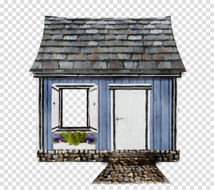 roof shed building window house