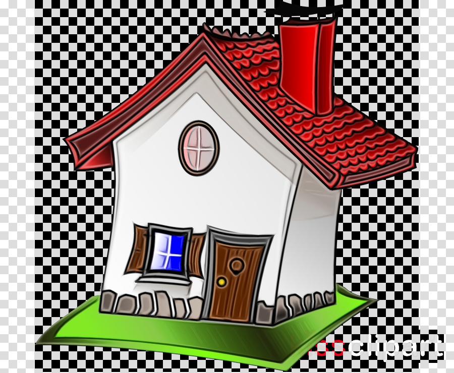 house cartoon property roof home