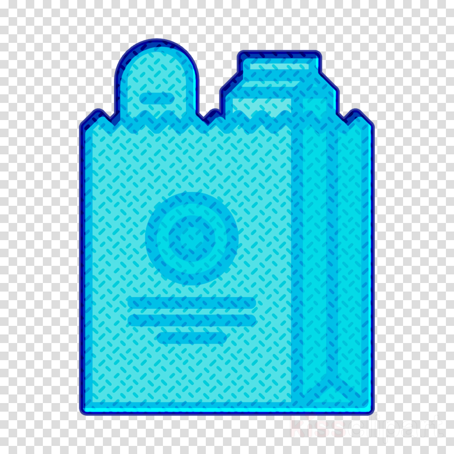 Food and restaurant icon Supermarket icon Shopping bag icon