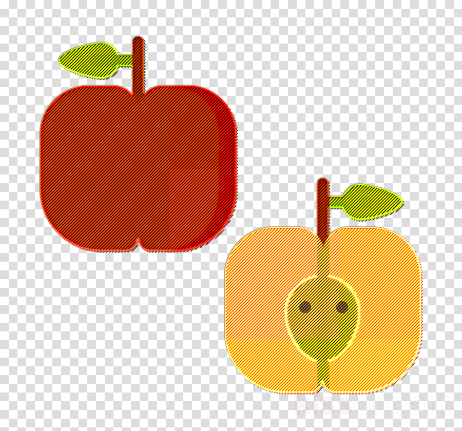 Apple icon Food and restaurant icon Fruits and Vegetables icon