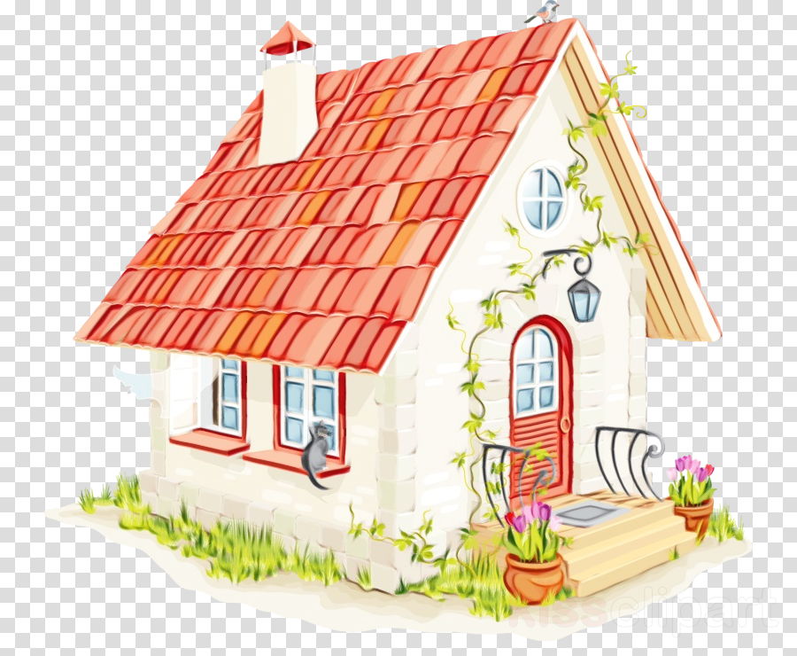 house playhouse cottage roof home