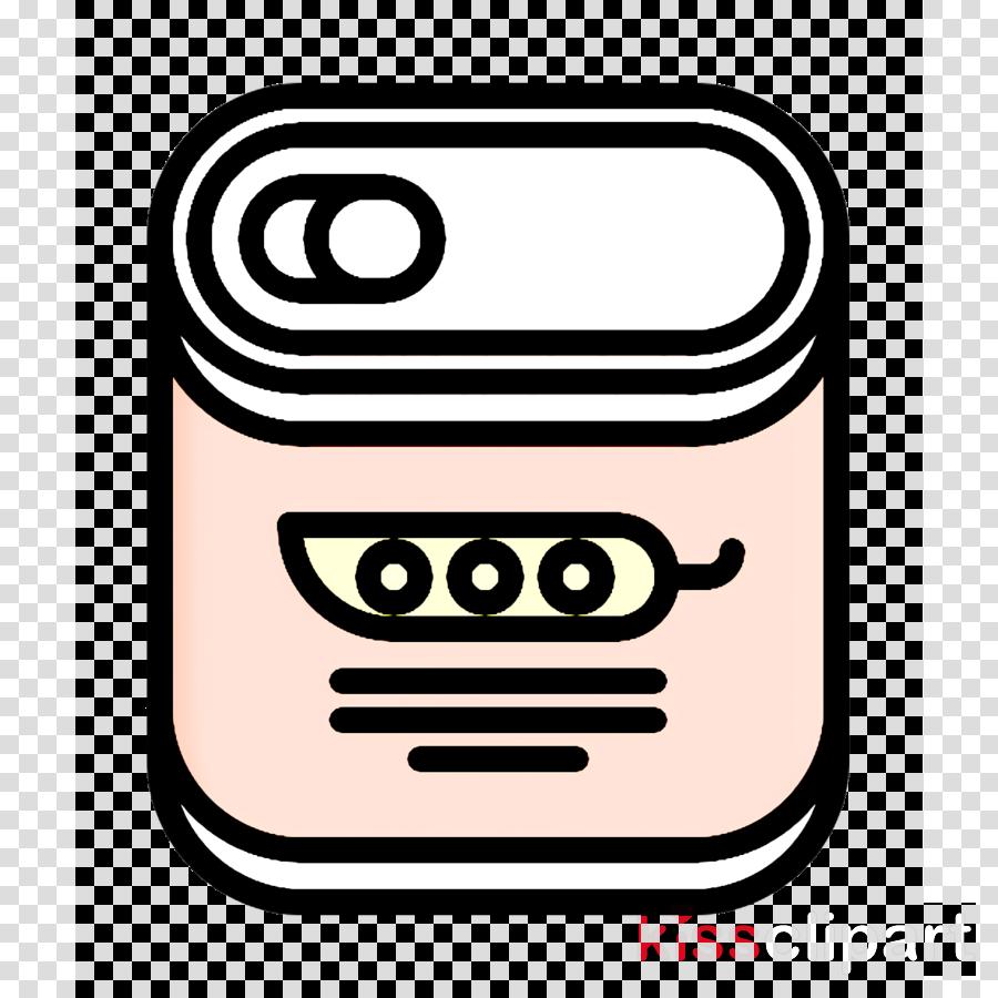 Food and restaurant icon Supermarket icon Peas icon